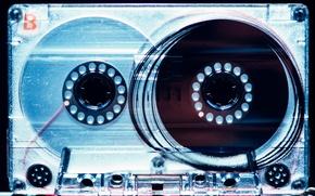 Picture macro, music, film, cassette