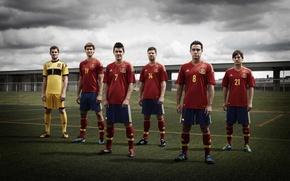 Picture the sky, grass, villa, xavi, casillas, silva, spain team, spain national team hq photo, zbornaya …