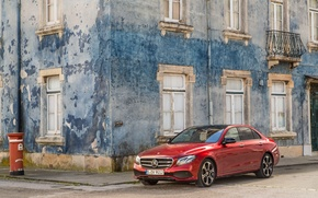 Picture house, Windows, Mercedes-Benz, E-Class, Mercedes, facade, W213