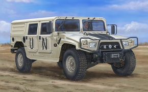 Picture figure, Car, Dongfeng Meng Shi, Hardtop Version A, Military Light Utility Vehicle
