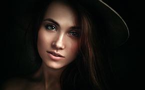 Picture portrait, the art style, George Chernyadev, Xenia, Kseniya