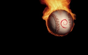 Picture fire, minimalism, The ball