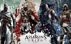 Picture game, photoshop, denisoff, assassin's creed