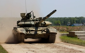 Picture tank, Russia, military equipment, T-90