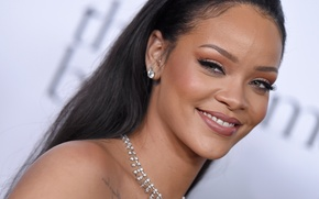 Picture eyes, smile, teeth, lips, rihanna, Rihanna
