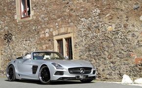 Picture tuning, Mercedes-Benz, car, AMG, SLS, the front, Borrasca, Inden-Design