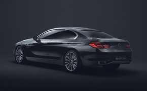 Wallpaper Gran Coupe, BMW, The concept