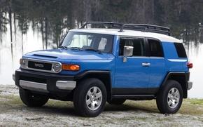 Picture Blue, Japan, Machine, Wallpaper, Jeep, Japan, Toyota, Car, Auto, Car, Wallpapers, SUV, Toyota, Cruiser, Cruiser, …