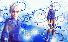 Picture blue, rise of the guardians, jack frost, Jack frost, rise of guards