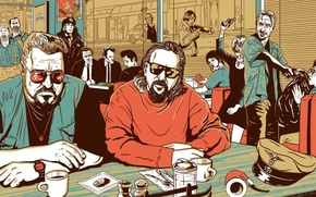 Picture art, pulp fiction, Fargo, john goodman, the old men, Oh brother where art thou, collection, ...