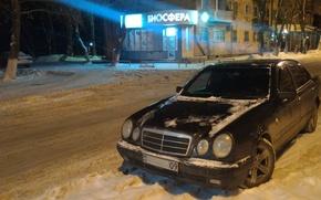 Picture Mercedes-Benz, Mercedes, E-class, E-Class, 1996, E-class, W210, Executivklasse, Lupato, Eyed, E200