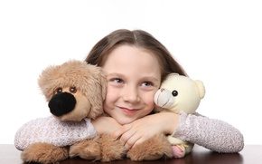 Picture joy, happiness, children, smile, toys, child, doll, Bear, cute, smile, toys, child, teddy bear, puppet, …