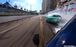 Picture machine, race, drift