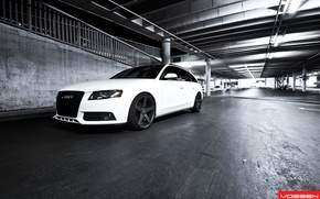 Picture Audi, White, Vossen