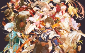 Picture anime, art, characters, Tales Of Zestiria