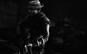 Picture Call of Duty: Modern Warfare, S.A.S, John Price, Call of duty