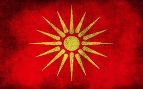 Wallpaper Macedonian Flag, Macedonia, Flag, Macedonian Old Flag