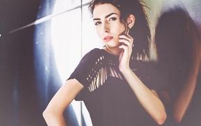 Picture Girl, Look, Model, Black, Girl, Hair, Dress, Beautiful, Model, Black, Russian, Beautiful, View, Fashion, Russian, …