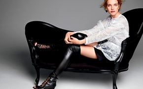 Picture photoshoot, Natalia Vodianova, Glamour, 2015