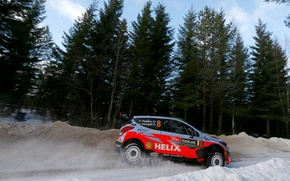 Picture Hyundai, Sweden, WRC, Rally, i20, Paddon