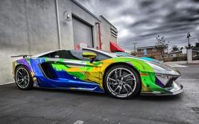 Picture Lamborghini, aventador, sport car, super car, car.