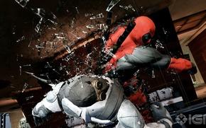 Picture The game, Deadpool, Marvel, Deadpool, Game, Wade Wilson, Marvel, Wade Wilson