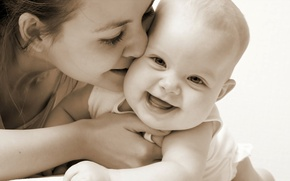 Wallpaper happiness, children, mood, smile