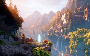 Picture Portal, ruins, The portal, rpg, Dragon age, ruins, RPG, The Inquisition, Dragon Age 3: Inquisition, …