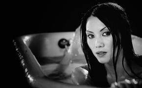 Picture eyes, look, girl, model, hair, actress, bath, girl, sexy, eyes, model, pretty, face, hair, sensual, …