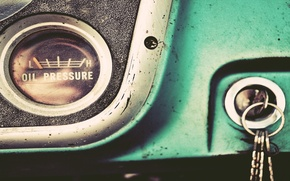 Picture desktop, vintage, style, retro, old, keys, dashboard, instrument panel