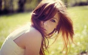 Picture look, model, brunette