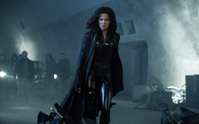 Wallpaper car, cinema, Kate Beckinsale, wallpaper, fire, flame, girl, Underworld, blue eyes, movie, vampire, brunette, hero, ...
