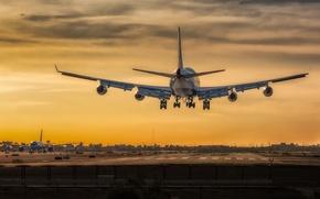 Picture 747, British Airways, Harbor International Airport, Phoenix Sky
