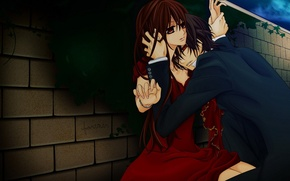 Wallpaper knight-vampire, Kaname, yuki, Yuki, anime, vampire knight
