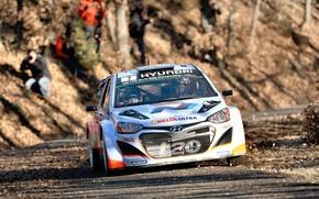 Picture Hyundai, WRC, Rally, Rally, Monte Carlo, i20, Hyundai, Neuville