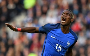 Picture football, France, player, France, football, player, Paul Pogba, national team, Euro 2016, Euro 2016, Paul …