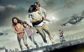 Picture family, action, owen wilson, terrorists, No escape