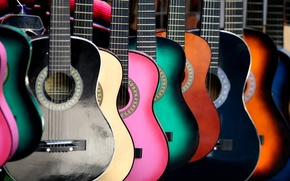 Picture background, color, guitar
