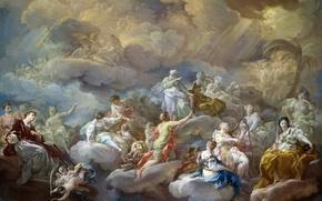 Wallpaper picture, mythology, Corrado Dzhakvinto, Swati Lawrence in Glory
