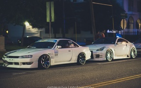 Picture nissan, turbo, white, japan, jdm, tuning, silvia, gtr, low
