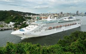 Picture Taiwan, liner, cruise, Taiwan, Kaohsiung City, Sun Princess, Kaohsiung