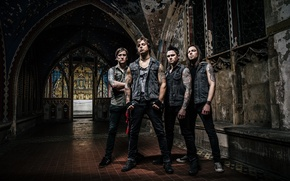 Picture music, metalcore, melodic, Jason James, Michael Padget, Michael Thomas, Bullet for my valentine, Matthew So