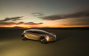 Wallpaper Mazda Nagare, the concept car, sunset