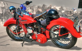 Picture red, design, style, background, HDR, motorcycle, form, bike