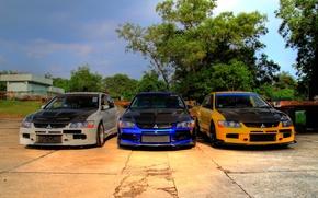 Picture tuning, three, Mitsubishi, Lancer, EvolutionIXGT