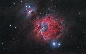 Picture stars, star cluster, the Orion nebula