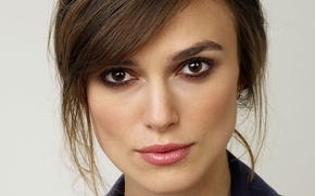 Picture look, brown hair, Keira Christina Knightley, Christina Knightley, Keira Christina Knightley