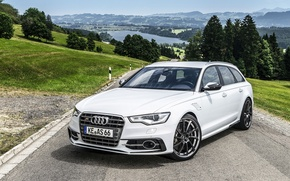 Picture Audi, tuning, Audi, the front, universal, AS6-R, Abbot