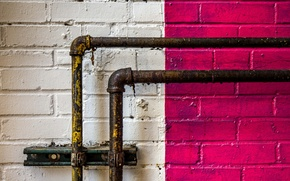 Picture wall, pipe, color