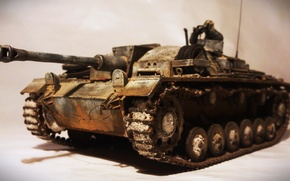 Picture toy, model, sturmgeshutz, Assault gun, gun, StuG III, assault, Ausf G